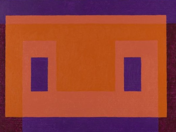 Josef Albers, <em>Variant/Adobe, Orange Front</em>, 1948-58, The Solomon R. Guggenheim Foundation, Gift, The Josef and Anni Albers Foundation in honor of Philip Rylands for his continued commitment to the Peggy Guggenheim Collection