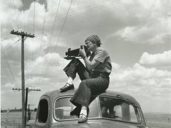 Dorothea Lange, 1936, by Paul S.Taylor