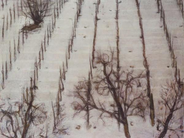Bongiovanni Radice, La neve sul vigneto, 1966