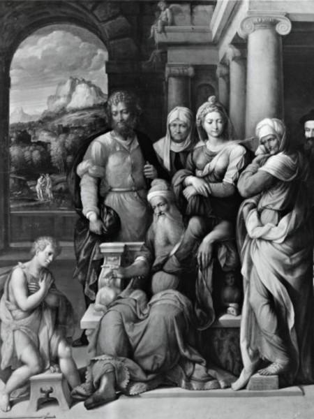 San Giovanni Battista si accomiata dal Padre