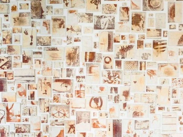 Silvia Celeste Calcagno, IF, Installazione Fireprinting, 2017