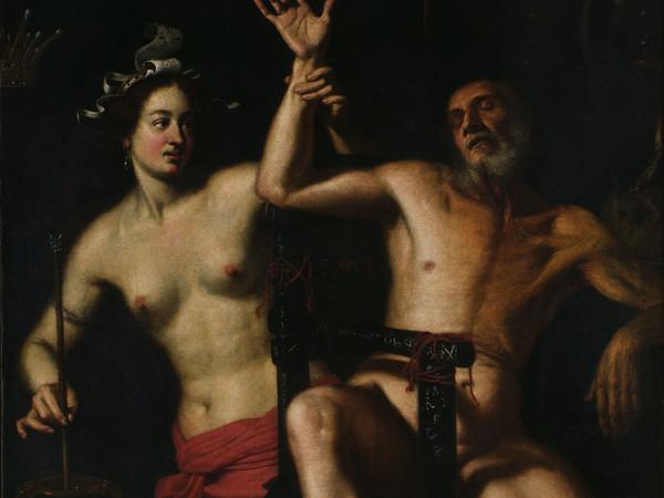 Pietro Bellotti, Medea ringiovanisce Esone, olio su tela, 119 x 134 cm. Rovigo, Pinacoteca dell'Accademia dei Concordi