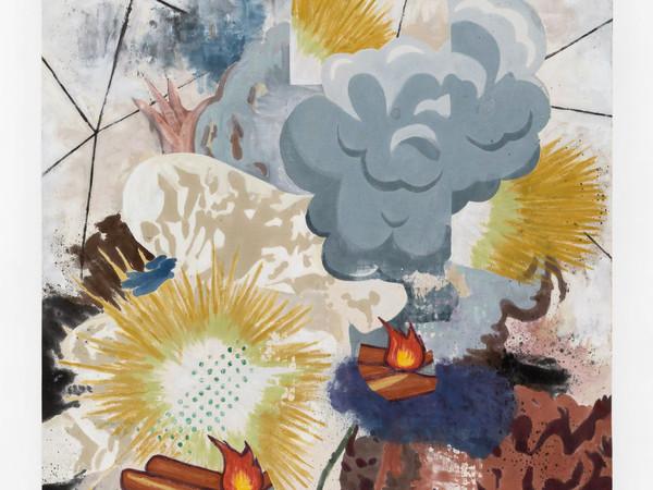 Chris Hood, Split Smoke, 2021, cm. 62x50