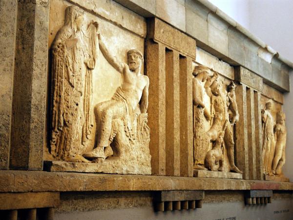 Metope dai sette templi di Selinunte
