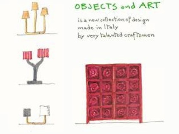 Aldo Cibic. Objects and Art, Antonia Jannone Disegni di Architettura, Milano