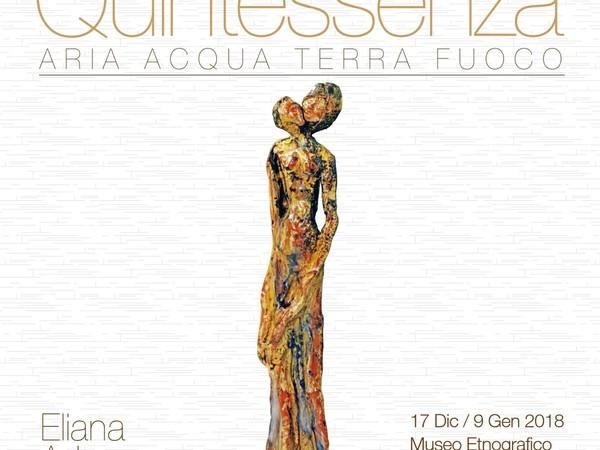 Eliana Adorno, Quintessenza, Museo etnografico Nunzio Bruno, Floridia