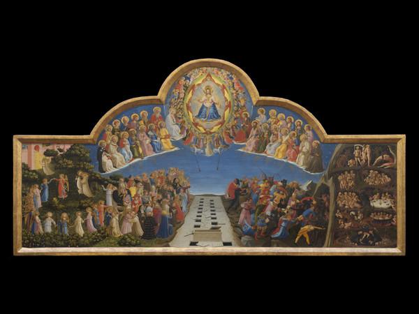 Beato Angelico (Vicchio, 1395 circa - Roma, 1455), Giudizio Finale, 1425-1430, Tempera su tavola, 105 x 210 cm, Firenze, Museo di San Marco