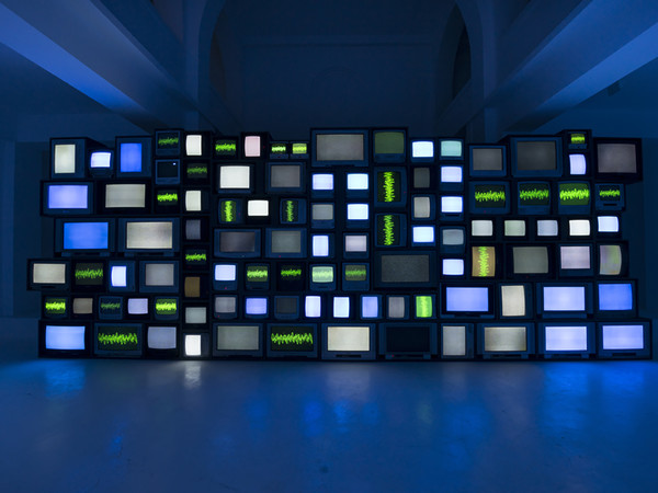 Susan Hiller, Resounding (Infrared), 2013, single channel video, 16:9 projection with stereo sound, 30 minutes