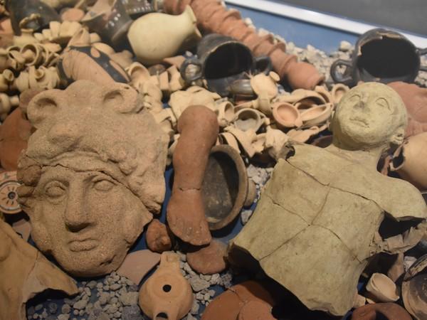 Alla ricerca di Stabia, Antiquarium degli scavi di Pompei