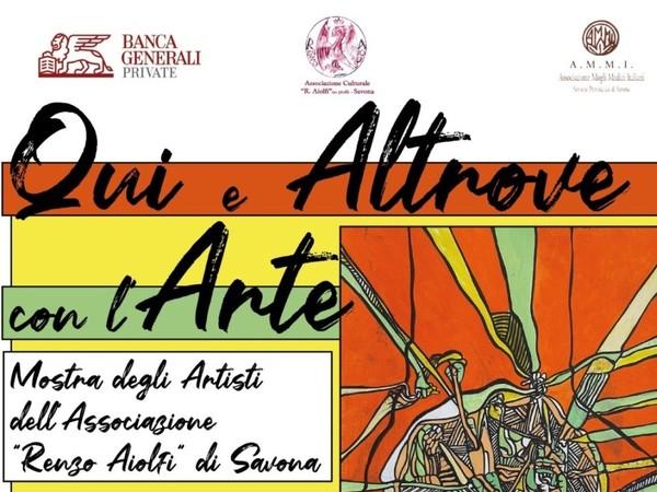 Qui e Altrove con l'Arte, Banca Generali Private, Savona