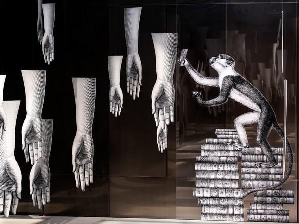 Barnaba Fornasetti, <em>La regola del sogno. Un'installazione di Barnaba Fornasetti e Valeria Manzi</em>, Fondaco dei Tedeschi, Event Pavilion, Venezia | Photo: Matteo De Fina