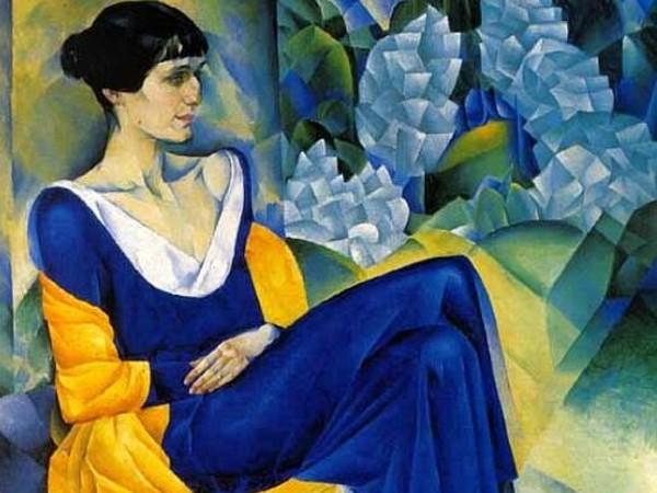 Nathan Alt'man, <em>Ritratto di Anna Achmatova</em>, 1915 Olio su tela, 123,5 x 103,2 cm © State Russian Museum, St. Petersburg