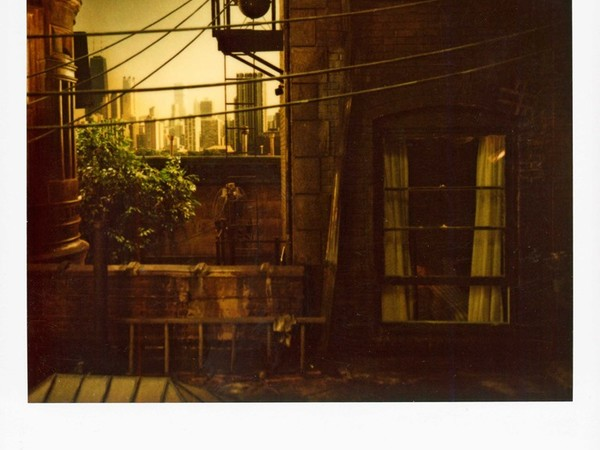 Robby Müller, Mad Dog and Glory, Chicago, 1991. Polaroid Spectra