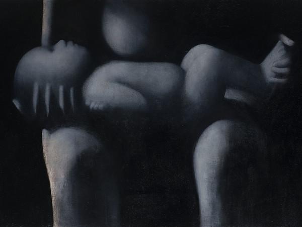 Silvia Codignola, Bambino, 2010-2013. Tempera all'uovo e olio su tavola, 40 x 70