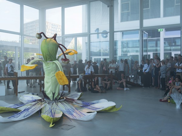 Ingela Ihrman, The Passion Flower (La Passiflora), 2017. Performance, The Inner Ocean, Der Tank, Basel, 2017
