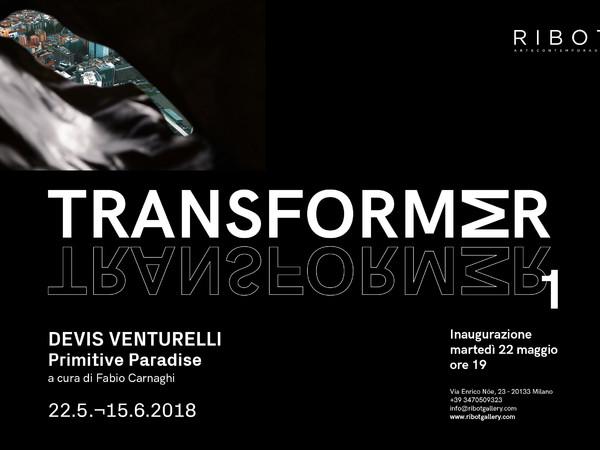 Devis Venturelli, Primitive Paradise, Ribot Gallery, Milano