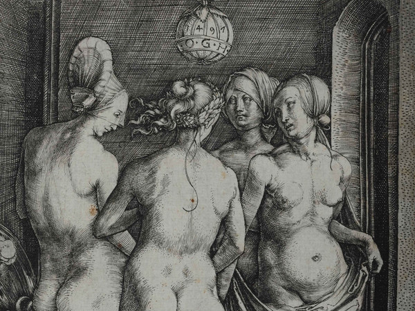 Albrecht Dürer, Le quattro streghe, Incisione a bulino, 123 x 192 mm | Courtesy © Musei Civici di Bassano