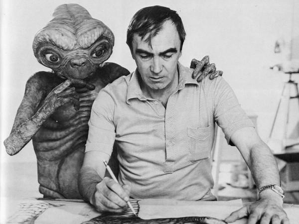 <em>Carlo Rambaldi con E.T.</em> | © Fondazione Culturale Carlo Rambaldi<br />
