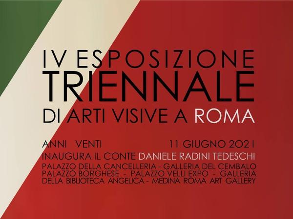 Esposizione Triennale di Arti Visive. IV Edizione, Roma