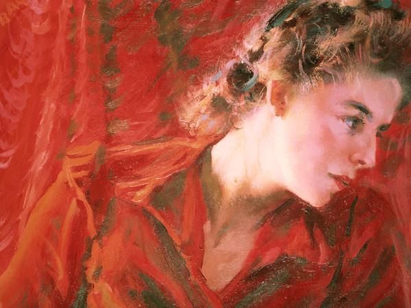 Giacomo Balla, Un'onda di luce, 1943