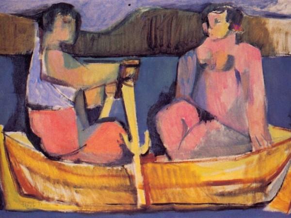 Dario Fo, Gita in barca, 1950