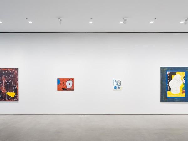 Walter Swennen, Bewtie. Installation view: Gladstone Gallery, New York. September 15 - October 28, 2017