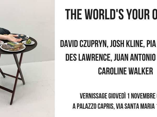 The World's Your Oyster, Palazzo Capris, Torino