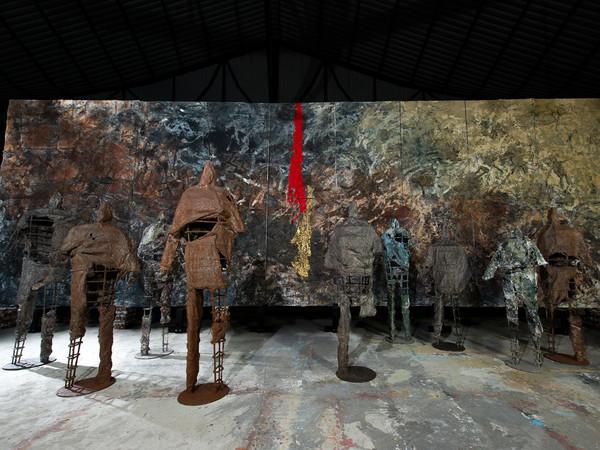 Henry Le, Installazione di sculture in ferro