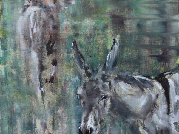 Tiziana Pers, Nativity, 2016, olio su tela