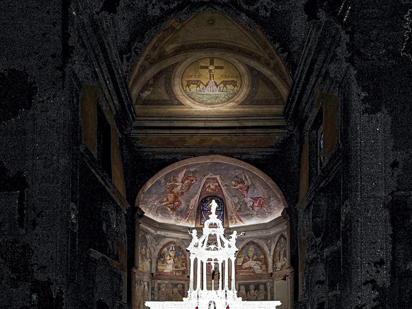 Maurizio Gabbana, Assenza, Battistero di Velate, Varese