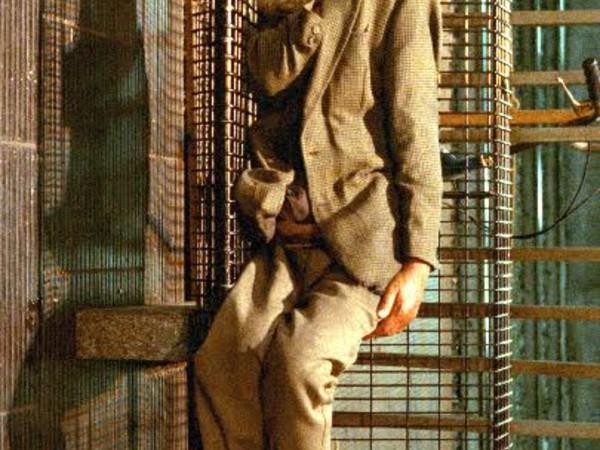 Paola Di Bello, Rischiano pene molto severe, 1998, fotografia a colori su forex, cm 210x125 (garibaldi)
