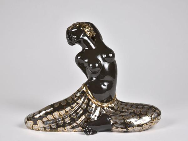 Francesco Nonni, Danzatrice, 1924, maiolica, collezione privata