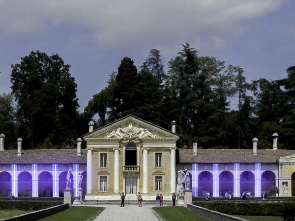 CASA di VITA / ARMONIA del TEMPO, Villa di Maser, prove di allestimento dell'opera di Waltraut Cooper