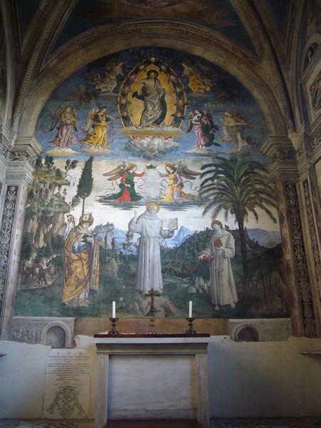 Storie San Bernardino da Siena (Cappella Bufalini)
