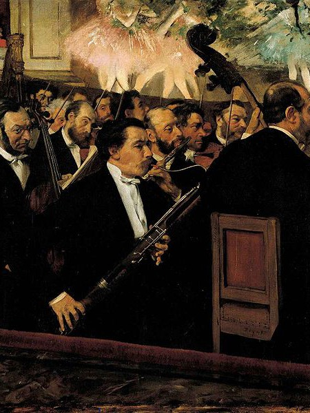 Edgar Degas - L'orchestra