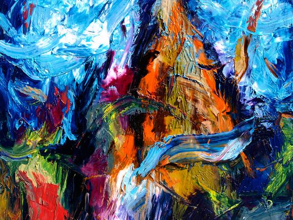 Sonia Agosti, Nascita di Venere, 2012, olio su tela, cm. 150x140