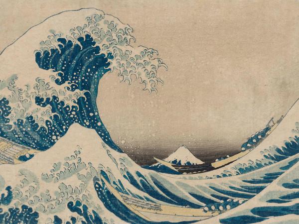 Katsushika Hokusai, <em>La Grande Onda, costa di Kanagaw</em>a, Dalla serie <em>Trentasei vedute del monte Fuji</em> (1830-1831 circa)