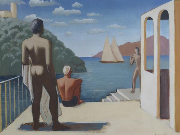 RAM (Ruggero Alfredo Michahelles), Île de Cythère, 1933, Paris, olio su tavola