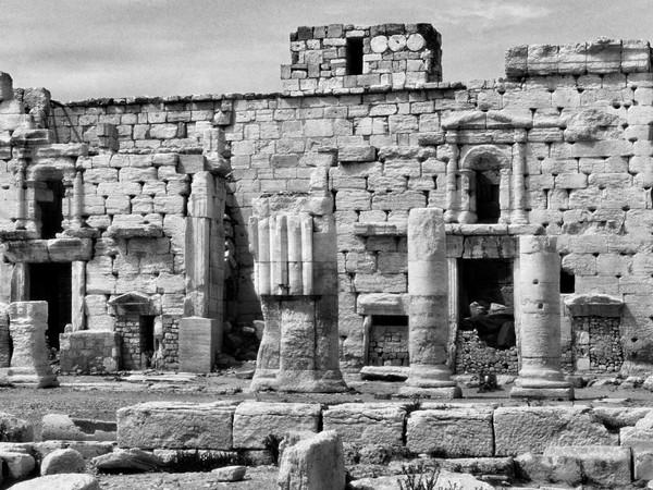 <em>Il tempio di Bel (particolare)</em>, Palmira | Foto &copy; Elio Ciol
