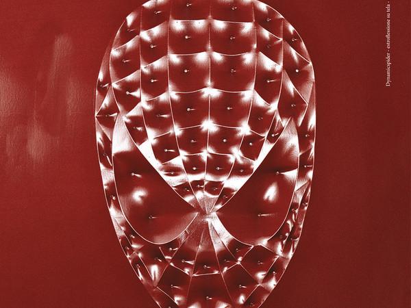 Sergio Cavallerin, Dymanicspider, estroflessione su tela, cm. 80x60