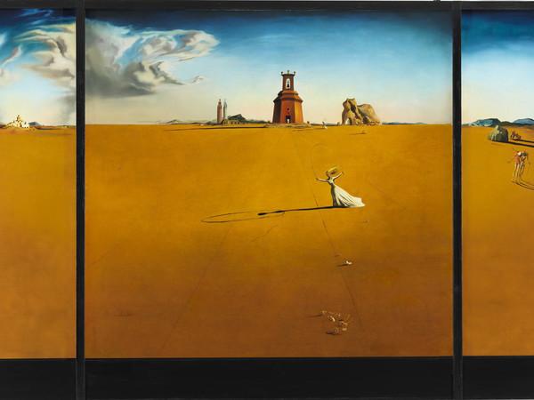 Salvador Dalí, Landscape with a Girl Skipping Rope, 1936. Museum Boijmans Van Beuningen, Rotterdam