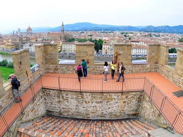 Veduta dalla Torre di San Niccolò, Firenze