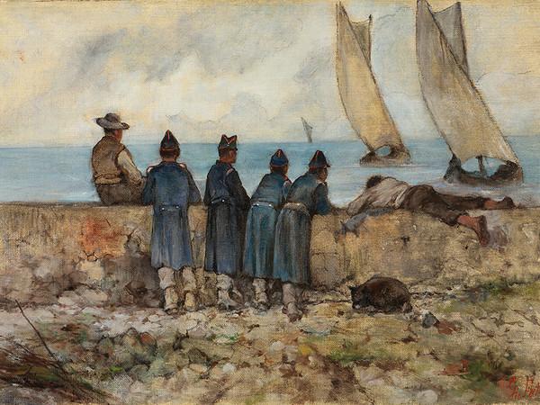 Giovanni Fattori, Reclute sul mare I Courtesy Forte di Bard
