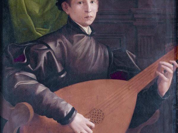Francesco Salviati. Il suonatore di liuto