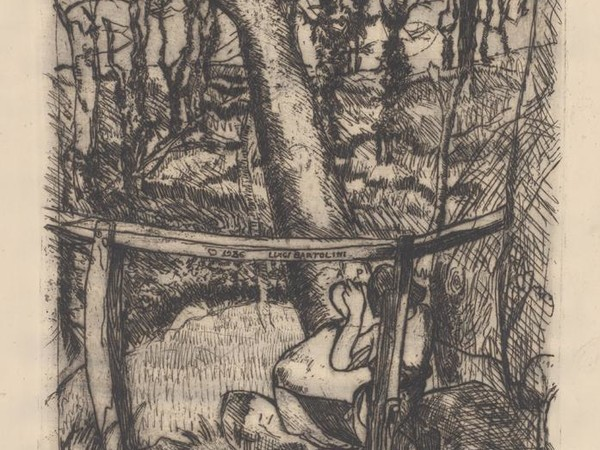 Luigi Bartolini, Anna incide un cuore in un albero