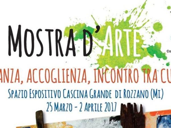 Migranza, Accoglienza, Incontro tra Culture, Galleria Cascina Grande, Rozzano (MI)