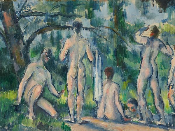 Paul Cézanne, Baigneurs, 1890-1894, olio su tela
