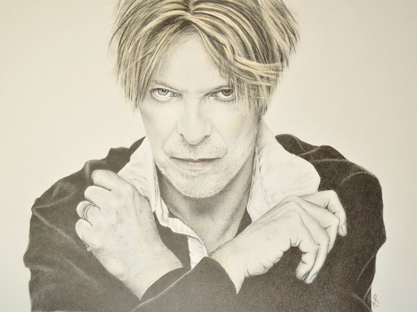 David Bowie by Anna Pluda