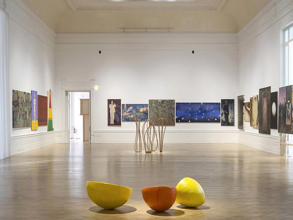 <em>Scorribanda</em>, Veduta dell'installazione, Galleria Nazionale d'Arte Moderna e Contemporanea, Roma