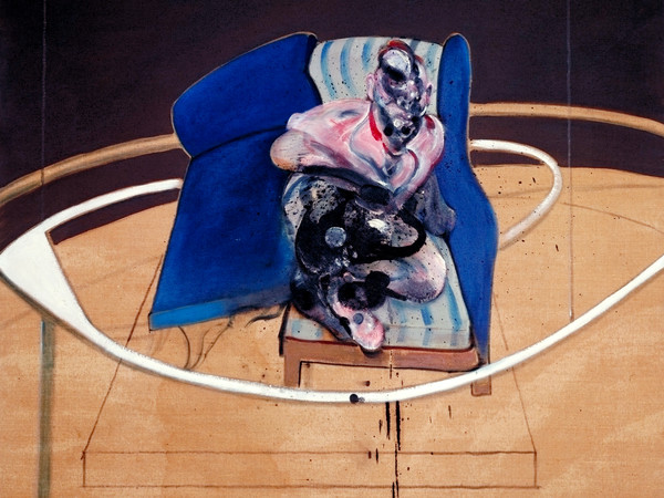 Francis Bacon, Study for Portrait on Folding Bed | Foto: © Tate London | Courtesy of Chiostro del Bramante, Roma